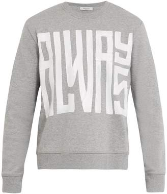Valentino Always cotton-blend sweatshirt