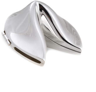 Bey-Berk Silver Fortune Cookie Box