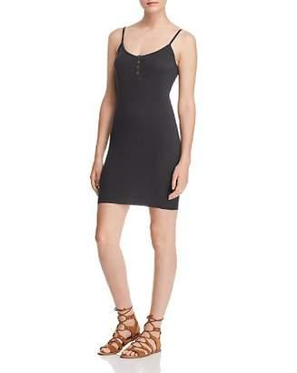 Nation Ltd. Rosalie Snap Slip Dress