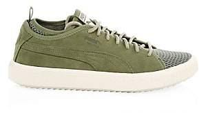 Puma Men's Breaker Suede Mesh Sports Sneakers