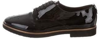 AGL Round-Toe Patent Leather Oxfords