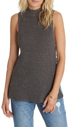 Women's Billabong Cross My Heart Sleeveless Sweater $59.95 thestylecure.com