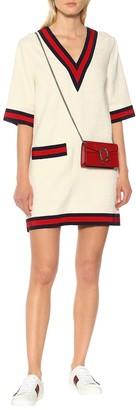 Gucci Cotton-blend sweater dress