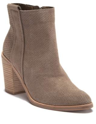 Dolce Vita Perforated Suede Bootie