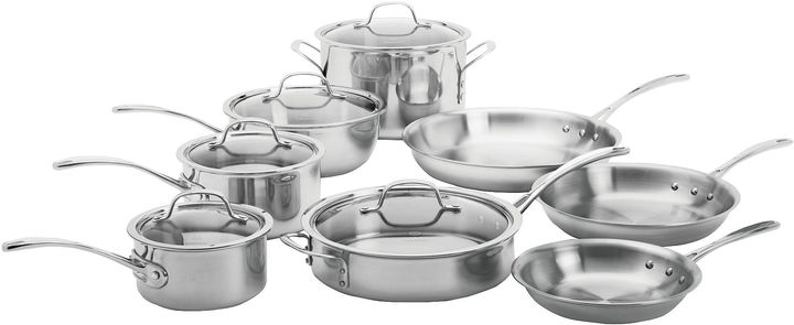 Calphalon Calphalon Tri-Ply 13-pc. Stainless Steel Cookware Set