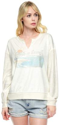 Juicy Couture Lifes A Beach Micro Terry Top