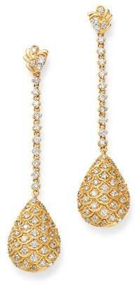 Bloomingdale's Diamond Pear Drop Earrings in 14K Yellow Gold, 1.20 c.t. t.w. - 100% Exclusive