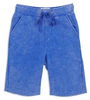 Butter Shoes Boys' Mineral-Wash Fleece Shorts - Big Kid
