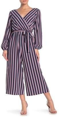 June & Hudson Nautical Stripe Jumpsuit