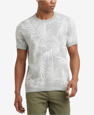 Kenneth Cole New York Kenneth Cole. Palm Jacquard T-Shirt