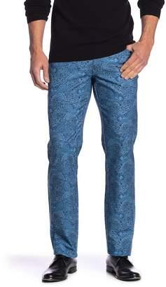 Peter Millar Carboro Paisley Straight Leg Pants