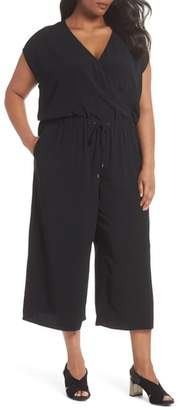 Eileen Fisher Wide Leg Crop Jumpsuit