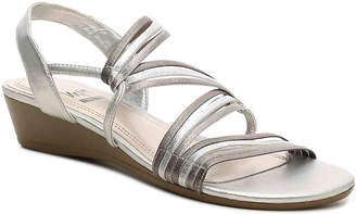 Women's Impo Rania Wedge Sandal -Silver/Pewter $52 thestylecure.com