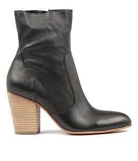 Midas Hatrick Black Natural Heel Leather