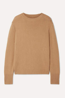 RE/DONE 40s Wool And Cashmere-blend Sweater - Camel
