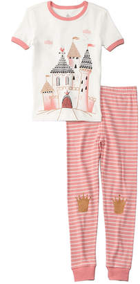 Petit Lem 2Pc Castle Pajama Set