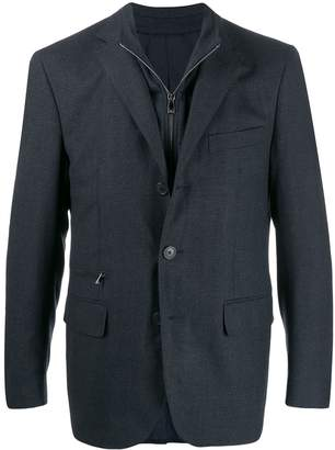 Corneliani embroidered blazer