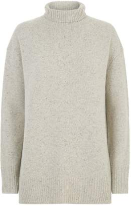 Vince Oversized Cashmere Turtleneck Sweater