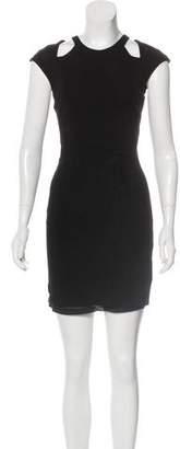 Helmut Lang Short Sleeve Mini Dress