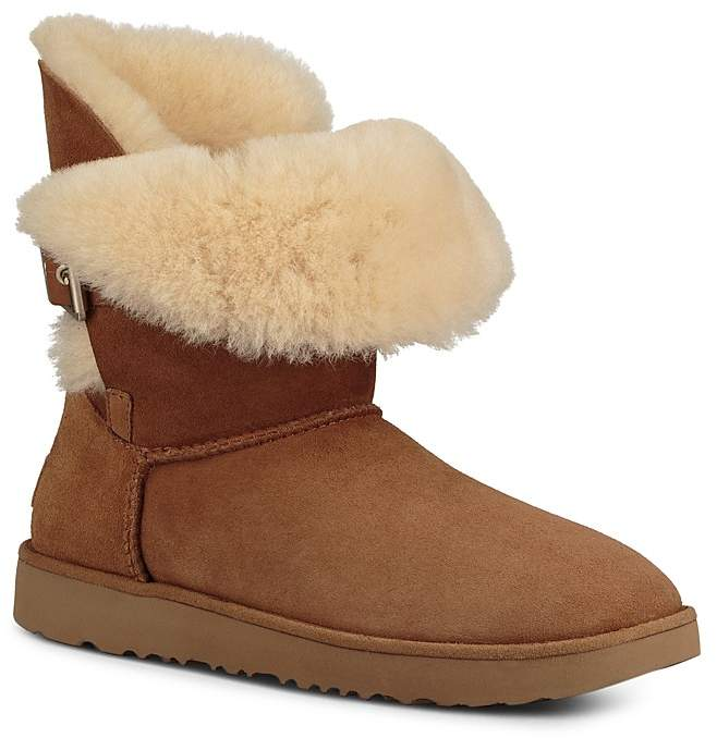 UGG® Women's Jaylyn Sheepskin & Leather Booties