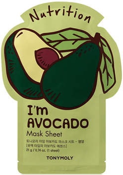 Tony Moly Tonymoly TonyMoly I'm Avocado Sheet Mask