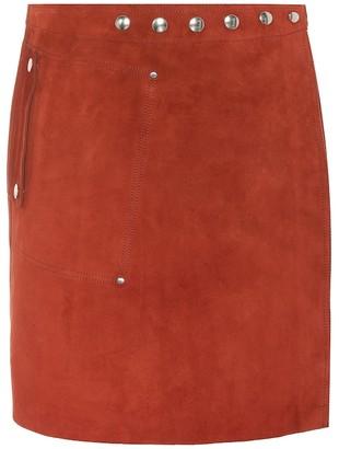 ed7a2615f Acne Studios Shiryn suede miniskirt