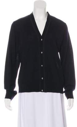 The Kooples Wool Button-Up Cardigan