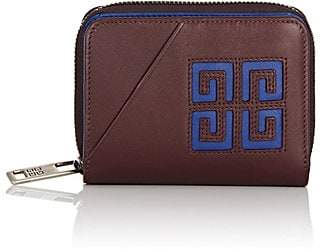 Givenchy Men's Leather Compact Wallet - Brown