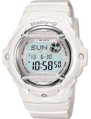 Baby-G Generic Casio Women's 'Baby-g White Watch Steko LTD