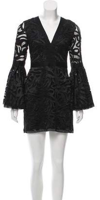 Alexis Bell Sleeve Lace Dress