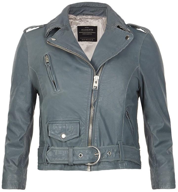 AllSaints Tide Leather Biker Jacket