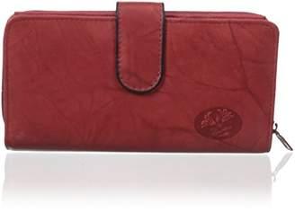 Buxton Women's Heiress Checkbook Wallet