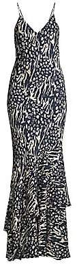 Rebecca Vallance Women's Lola Printed Maxi Bodycon Dress - Size 0