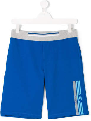 Armani Junior TEEN track shorts
