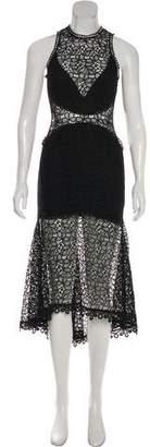 Nicholas Lace Midi Dress