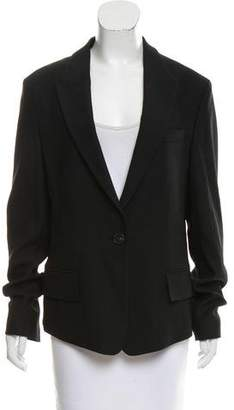 Philosophy di Alberta Ferretti Peak-Lapel Wool-Blend Blazer w/ Tags