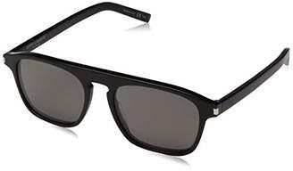 Saint Laurent Men's SL 158 001 Sunglasses