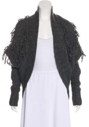 CNC Costume National Alpaca Knit Cardigan