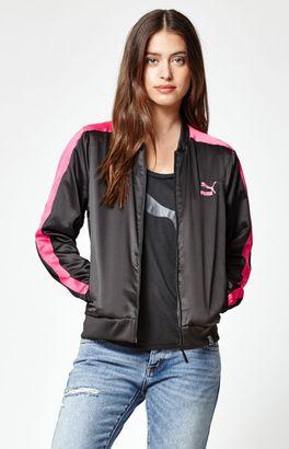 Puma T7 Satin Track Jacket $65 thestylecure.com