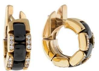 Chanel 18K Diamond Ultra Earrings