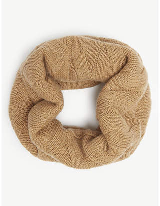 Johnstons Cable-knit cashmere snood