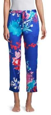Natori Drawstring Floral Pants