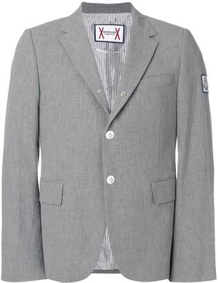 Moncler slim-fit button blazer