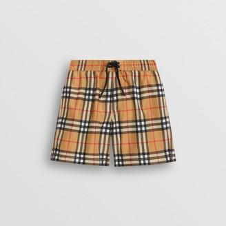 Burberry Childrens Vintage Check Swim Shorts