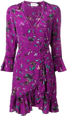 Tanya Taylor silk wrap dress