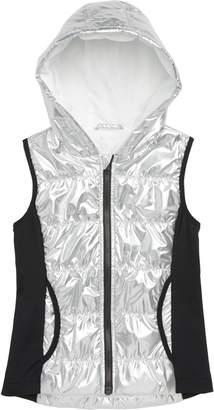Zella Girl Shine Quilted Hooded Vest