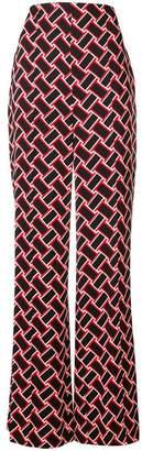 Diane von Furstenberg Erica wide-leg trousers