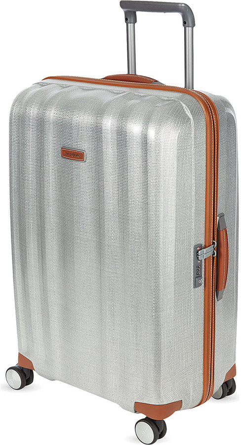SamsoniteSamsonite Lite-Cube Deluxe four-wheel spinner suitcase 76cm