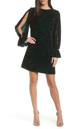 Sam Edelman Crushed Velvet Shift Dress