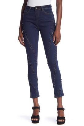 Wow Couture D-Ring Embellished Jeans